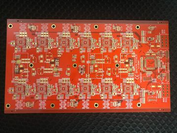 China Espessura Multilayer de alumínio da dupla camada 0.4mm da placa de circuito do carro da placa FR4 do PWB fábrica