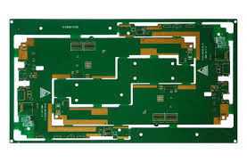 Placa Multilayer high-density do PWB 8 espessura do cobre da máscara 1oz da solda do verde da camada